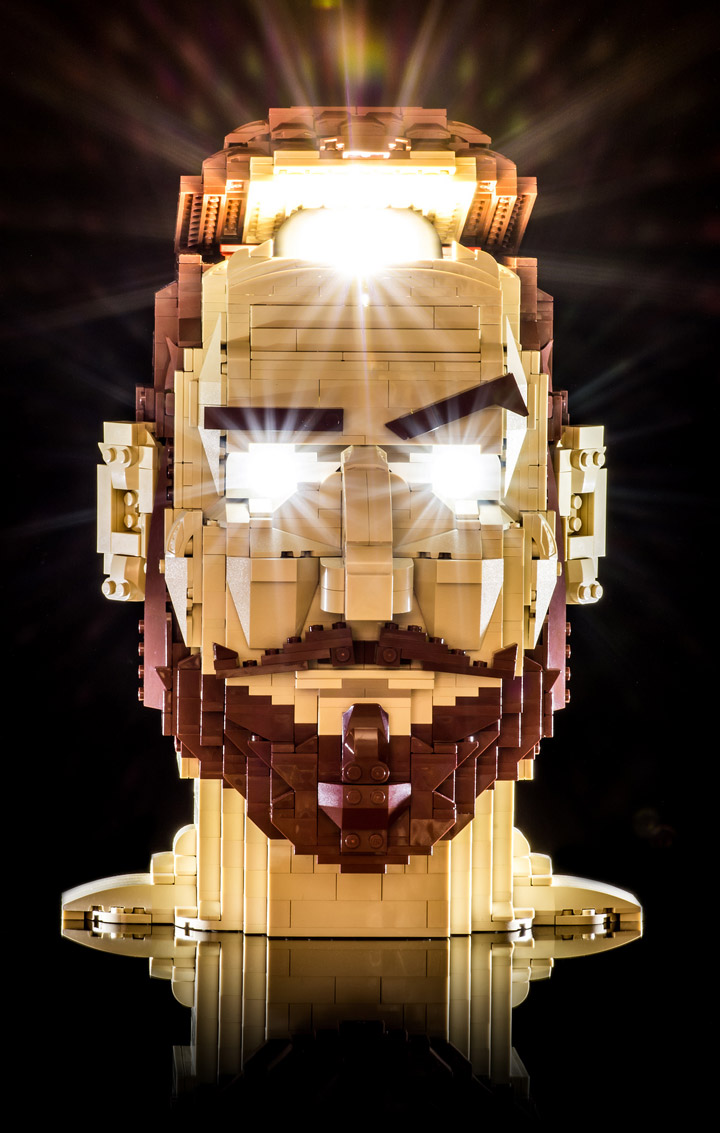 Julius von Brunk Lego Head Shock Treatment