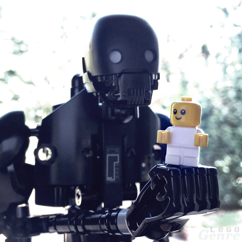 LegoGenre 404: I'll Be There For You. The Captain Said I Had To
