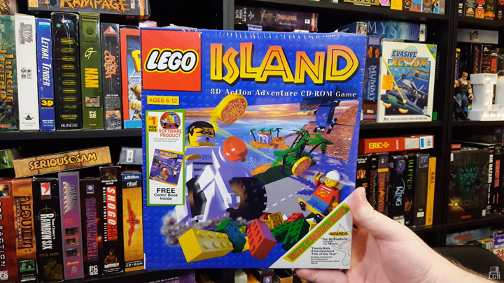 Lego Island Review LGR