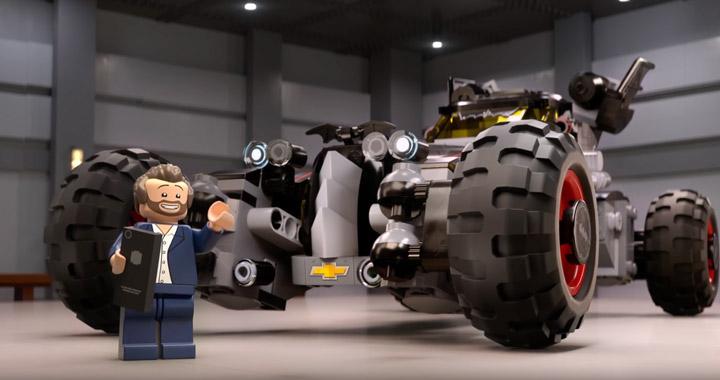 Lego Batman Batmobile Chevy