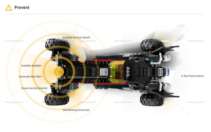 Lego Batmobile Chevy Web