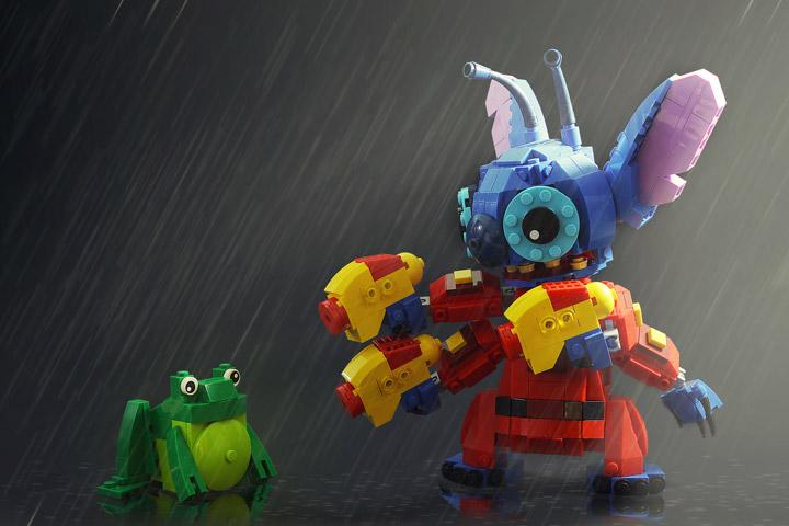 Legohaulic Lego Disney Stitch Experiment 626