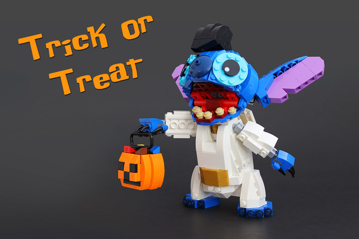 Legohaulic Lego Disney Stitch Halloween
