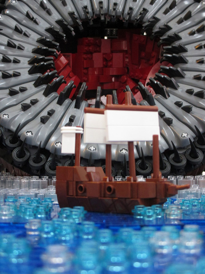 Micah Beideman Horrific Lego Tan'thu MOC