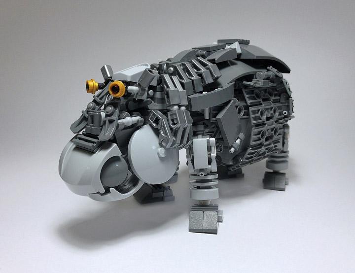 Mitsuru Nikaido Lego Mech Hippopotamus