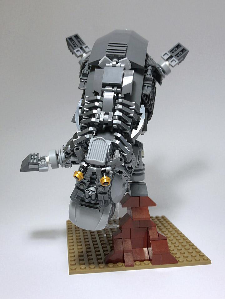 Mitsuru Nikaido Lego Mech Hippopotamus Circus
