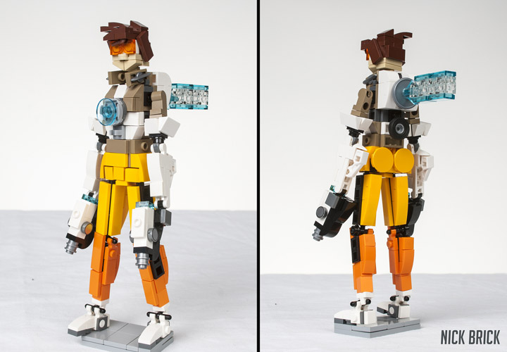 Nick Brick Lego Overwatch Tracer
