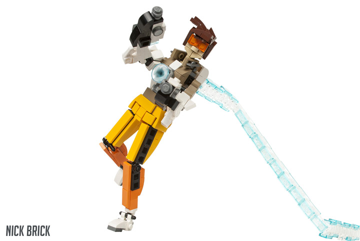 Nick Brick Lego Tracer Overwatch