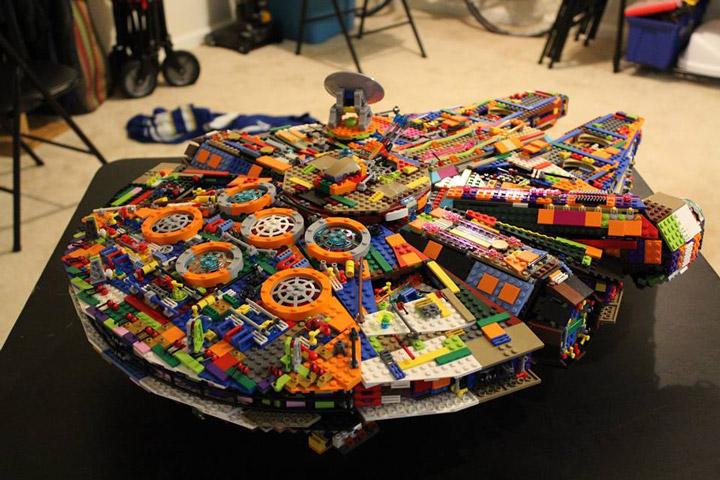 Peter De Smet Lego Star Wars UCS Millennium Falcon Recolor 02