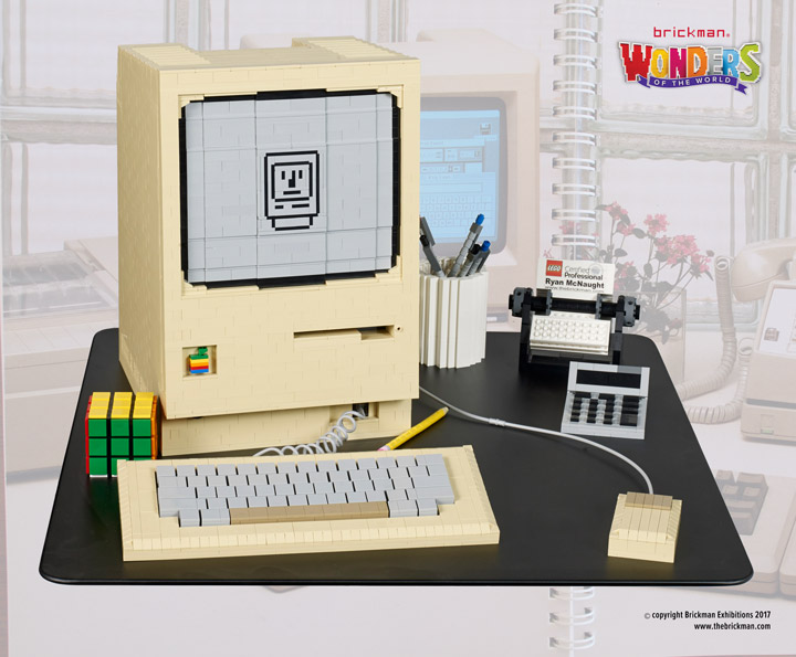 Ryan Lego Apple Macintosh 128k