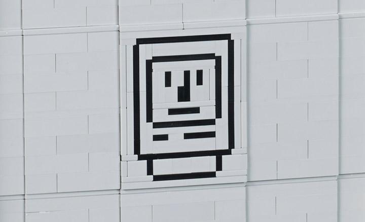 Ryan Lego Apple Macintosh 128k, Happy Mac Icon