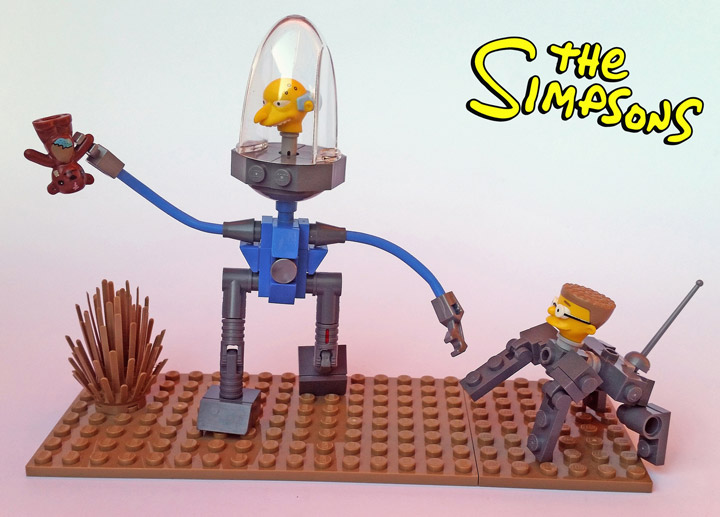Shannon Sproule Lego Simpsons Mr Burns & Bobo