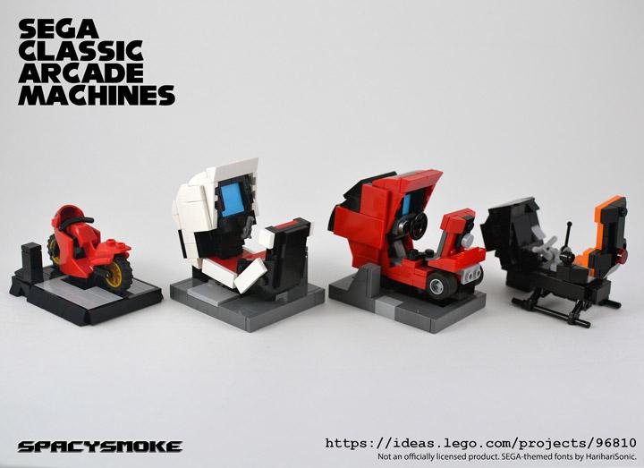 SpacySmoke Lego Classic Sega Arcade