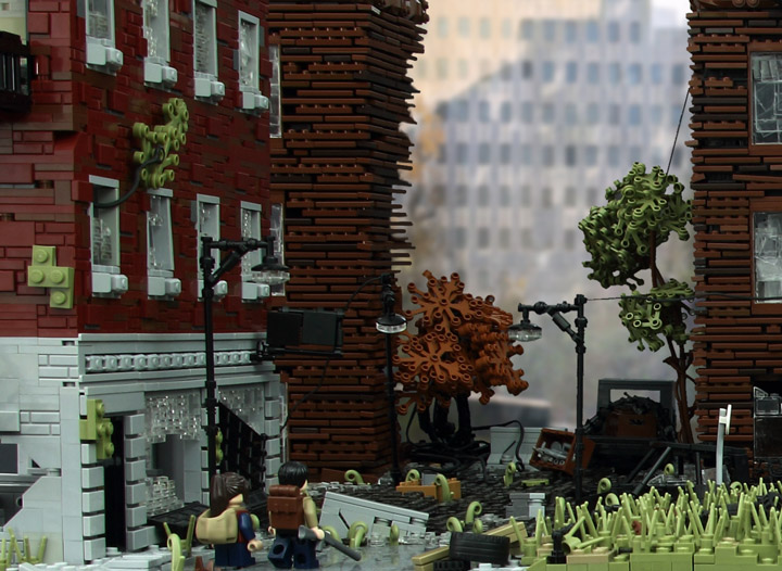 Tim Schwalfenberg The Last Of Us Lego Detail