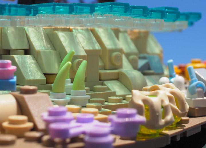 W Navarre Lego Coral Sandbar Underwater