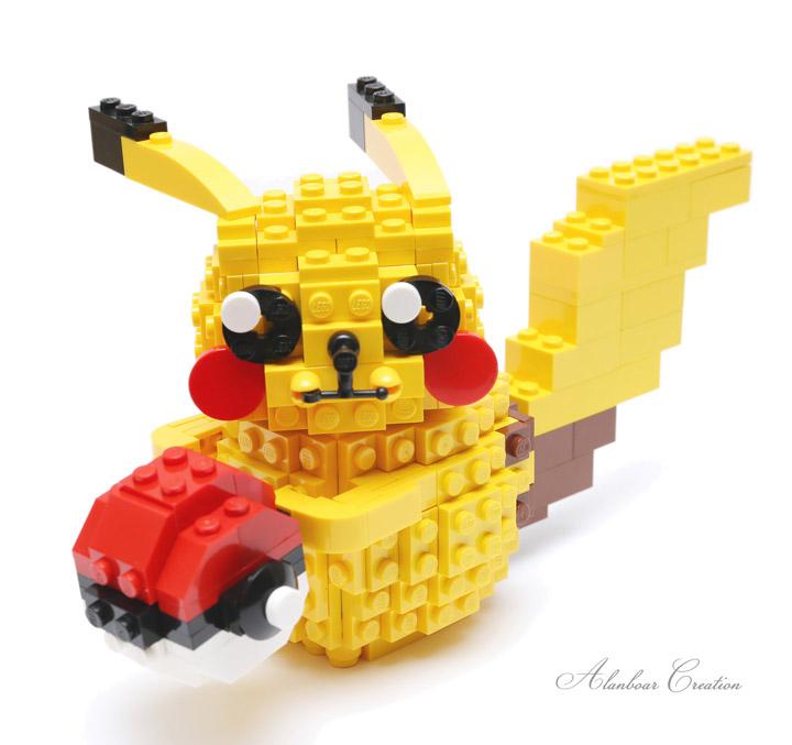 alanboar Lego Pikachu Mini