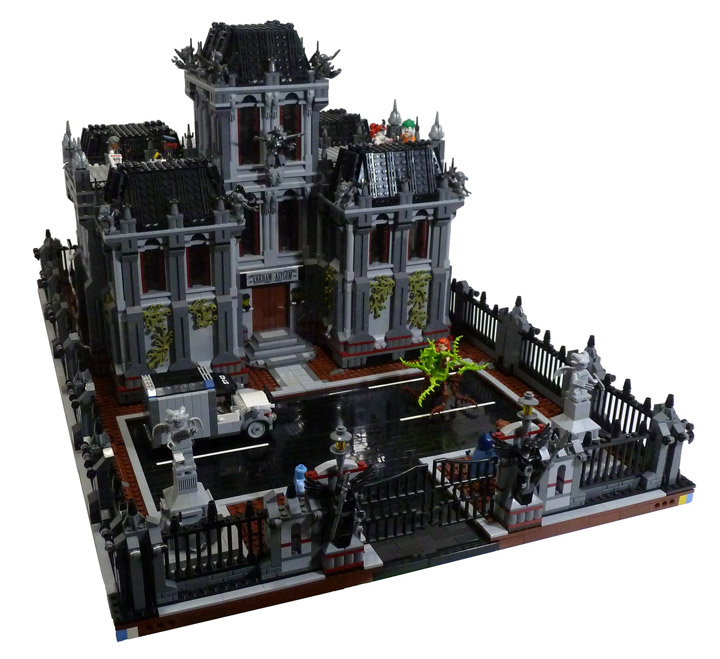 durazno_33 Lego Batman Arkham Asylum MOC 01