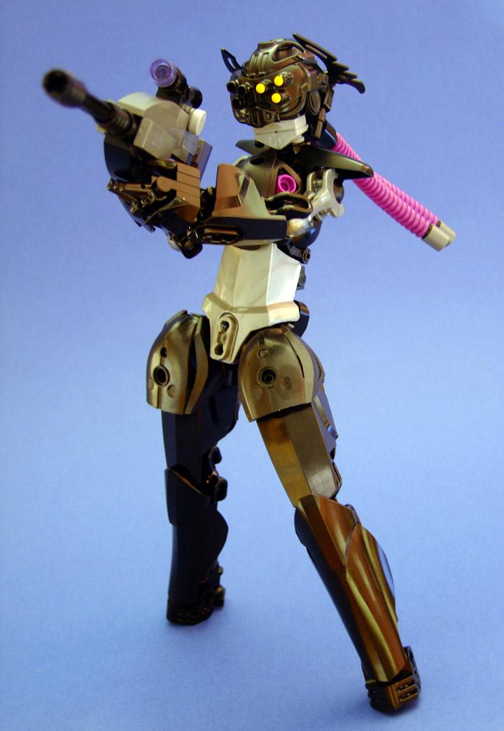 icemonster Lego Heartstopper Sniper Robogirl 01