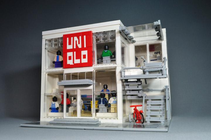 neruneruneranai lego uniqlo store
