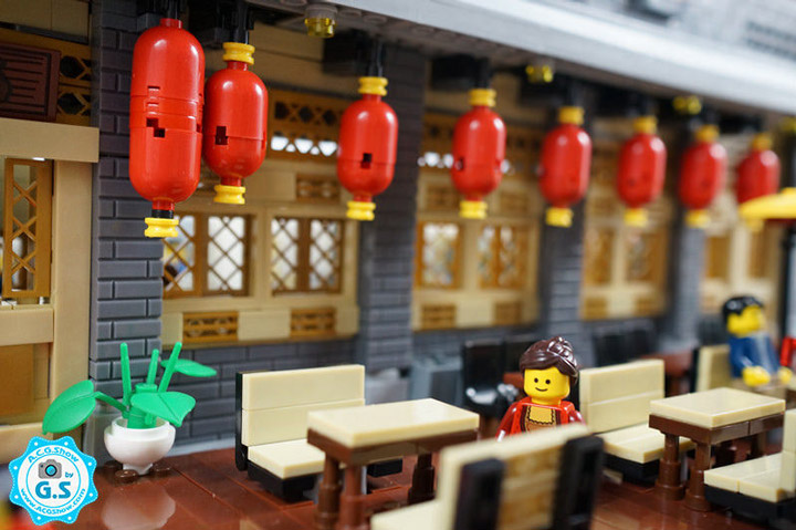 qian yj Lego Chinese Architecture Restaurant Detail