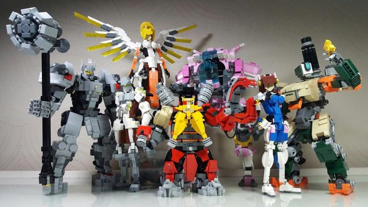 shm03337 Lego Overwatch Project