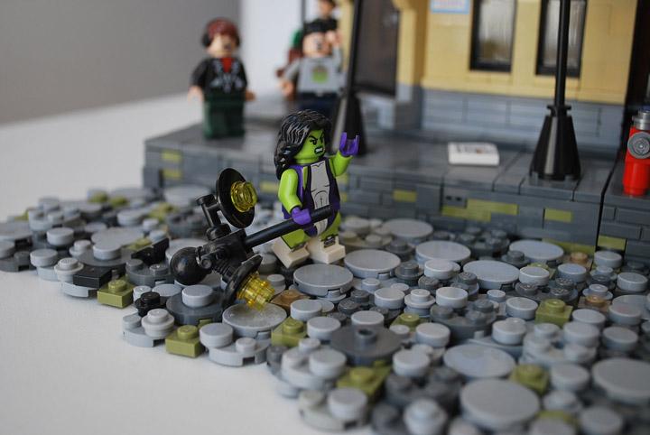 Ben Cossy Lego She-Hulk