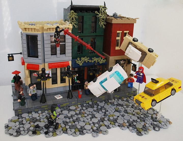 Ben Cossy Lego She-Hulk Iron Man Team