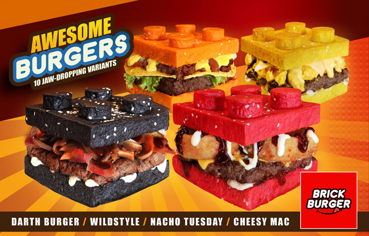 Brick Burger Lego Darth Burger Wildstyle