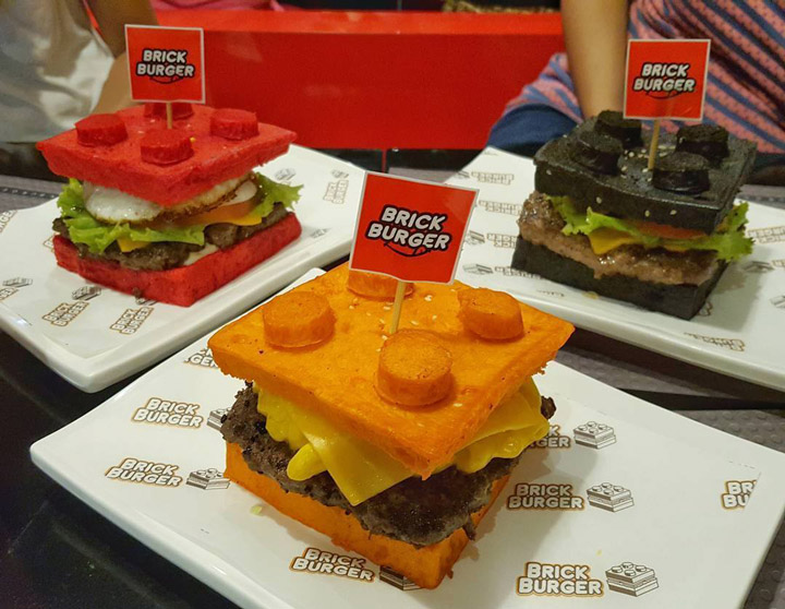 Brick Burger Lego Themed Burgers