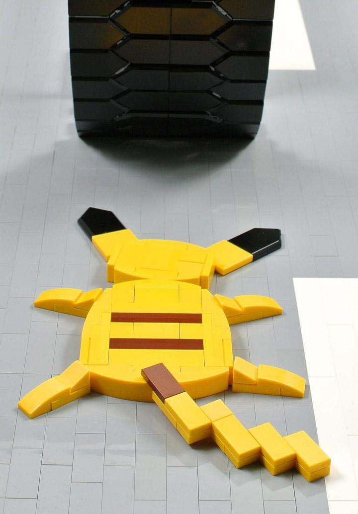 Cecilie Fritzvold Lego Pokemon Roadkill