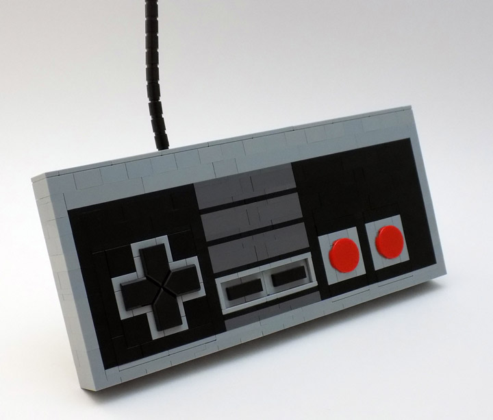 Chris Maddison Lego NES Controller, Up, Up, Down, Down…