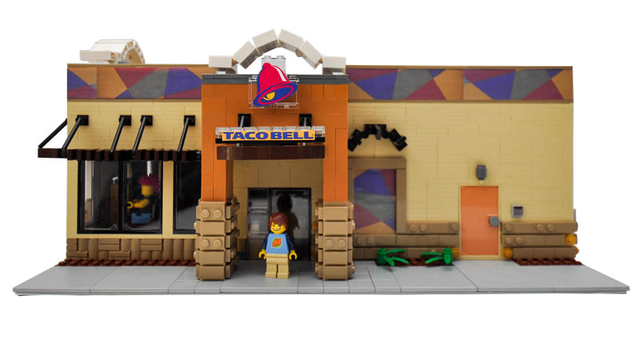 Minifigures Need To Eat Too, Part 2 - Lego Taco Bell And KFC ...