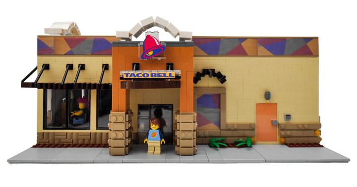 Eric Badis Lego Taco Bell