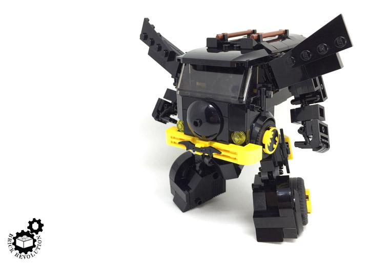 Hoyin Lau Lego Batman Batcamper Robot