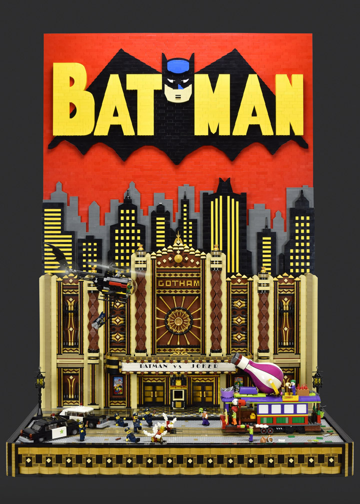 Paul Hetherington Lego Batman Gotham vs Joker, Gotham Theater Showdown