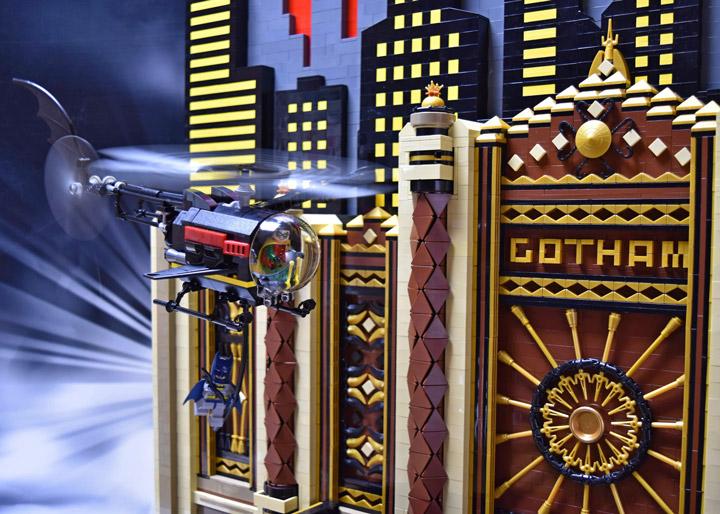 Paul Hetherington Lego Batman Gotham vs Joker 02