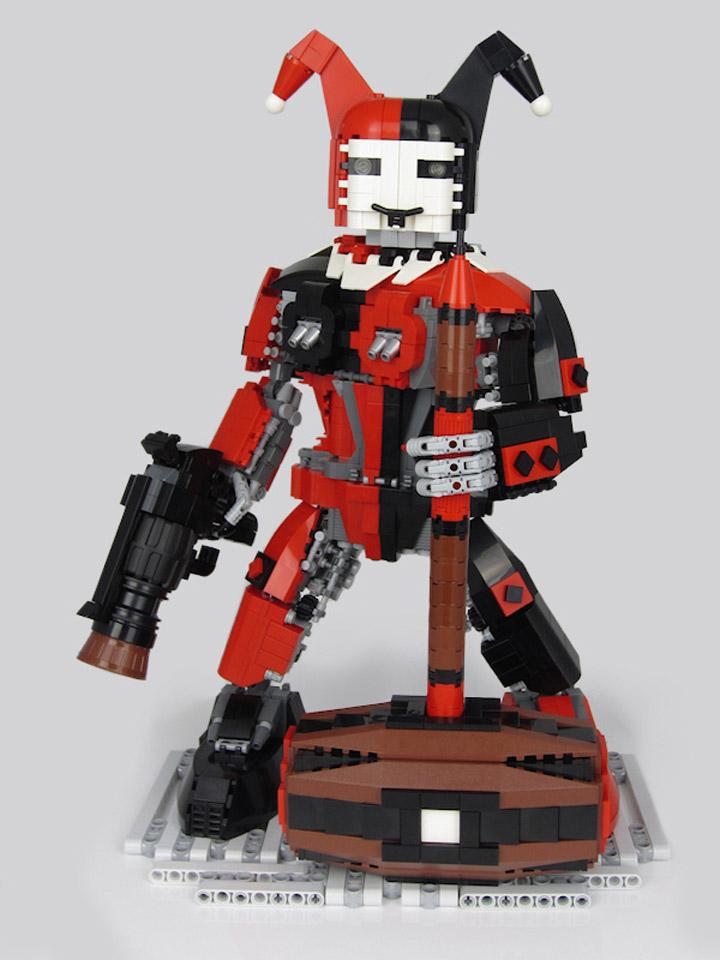 Peter Taylor Lego Harley's Harlequinn