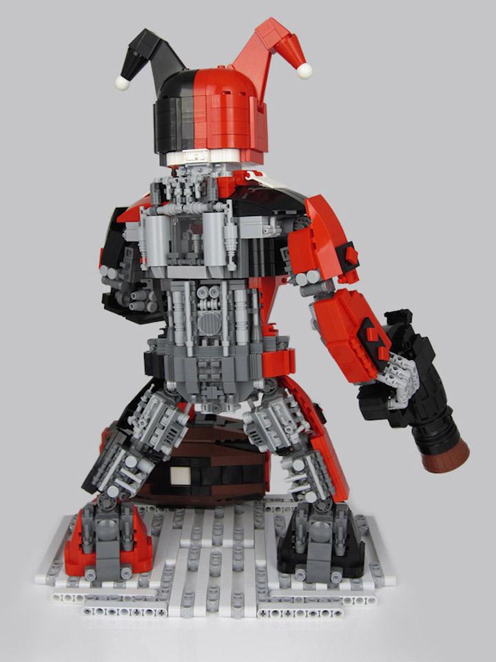 Peter Taylor Lego Harley's Harlequinn Back
