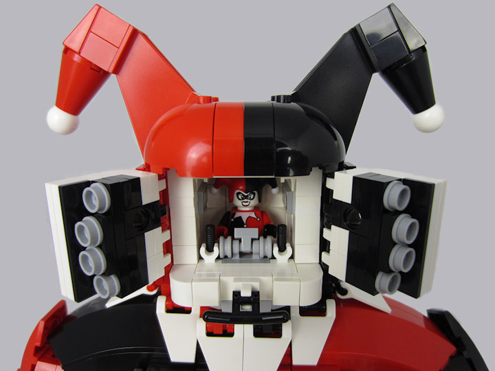 Peter Taylor Lego Harley's Harlequinn Cockpit