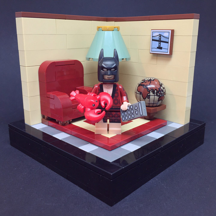 Sebastian Bachorzewski Lego Batman Movie Batman