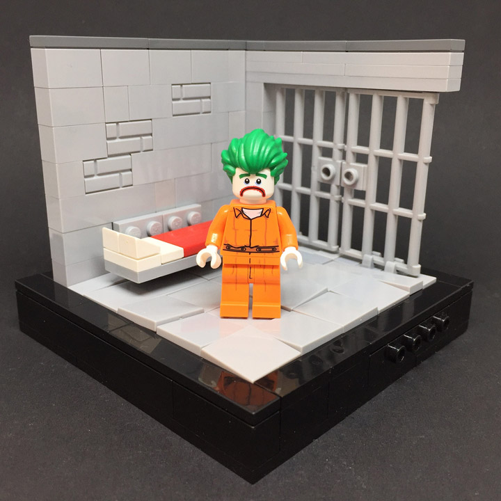 Sebastian Bachorzewski Lego Batman Movie Minifigure Displays Joker