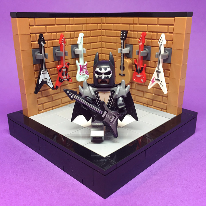 Sebastian Bachorzewski Lego Batman Movie Minifigure Displays Rocks
