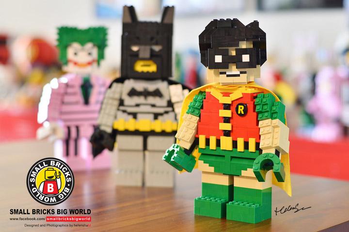 helen sham Lego Batman Figures Robin
