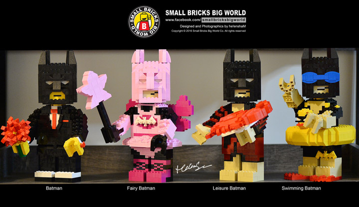 helen sham Lego Batman Brickbuilt Figures