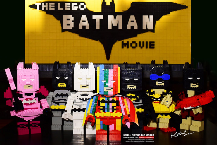 helen sham Lego Batman Movie Figures Batmans