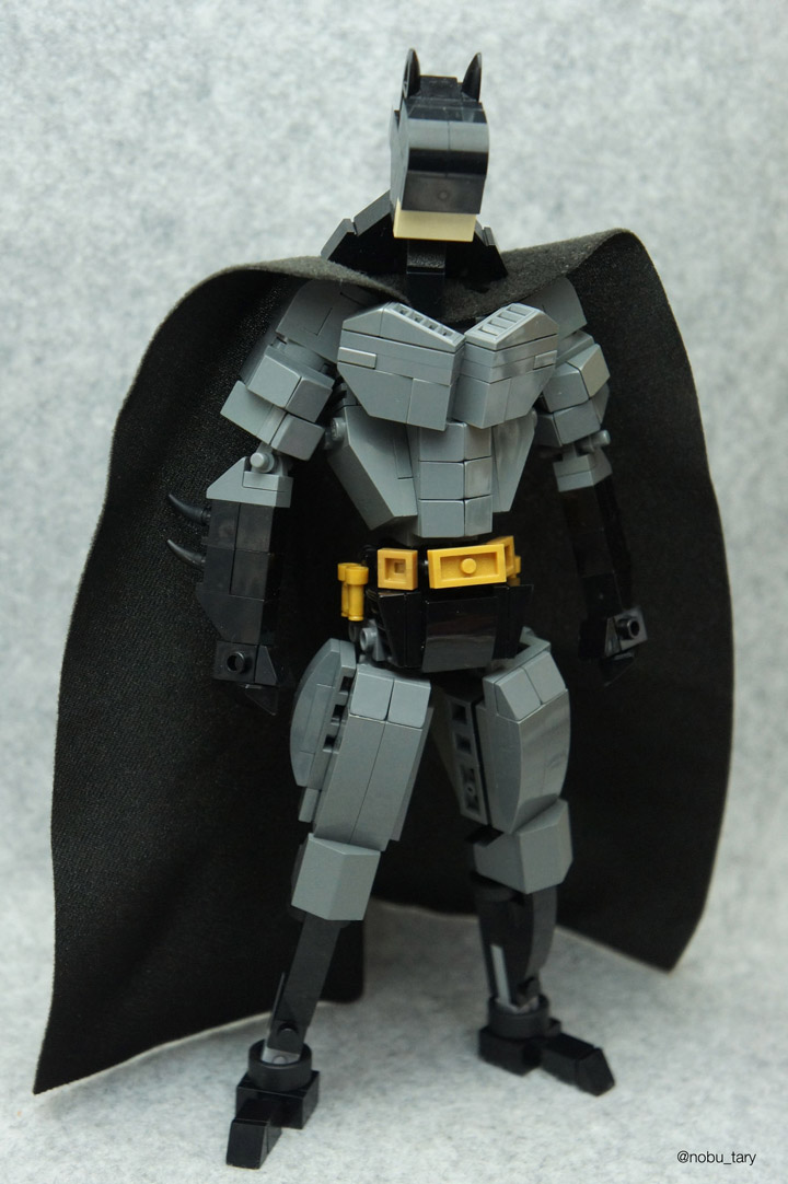 nobu_tary Batman Lego Figure, I Am Batman!