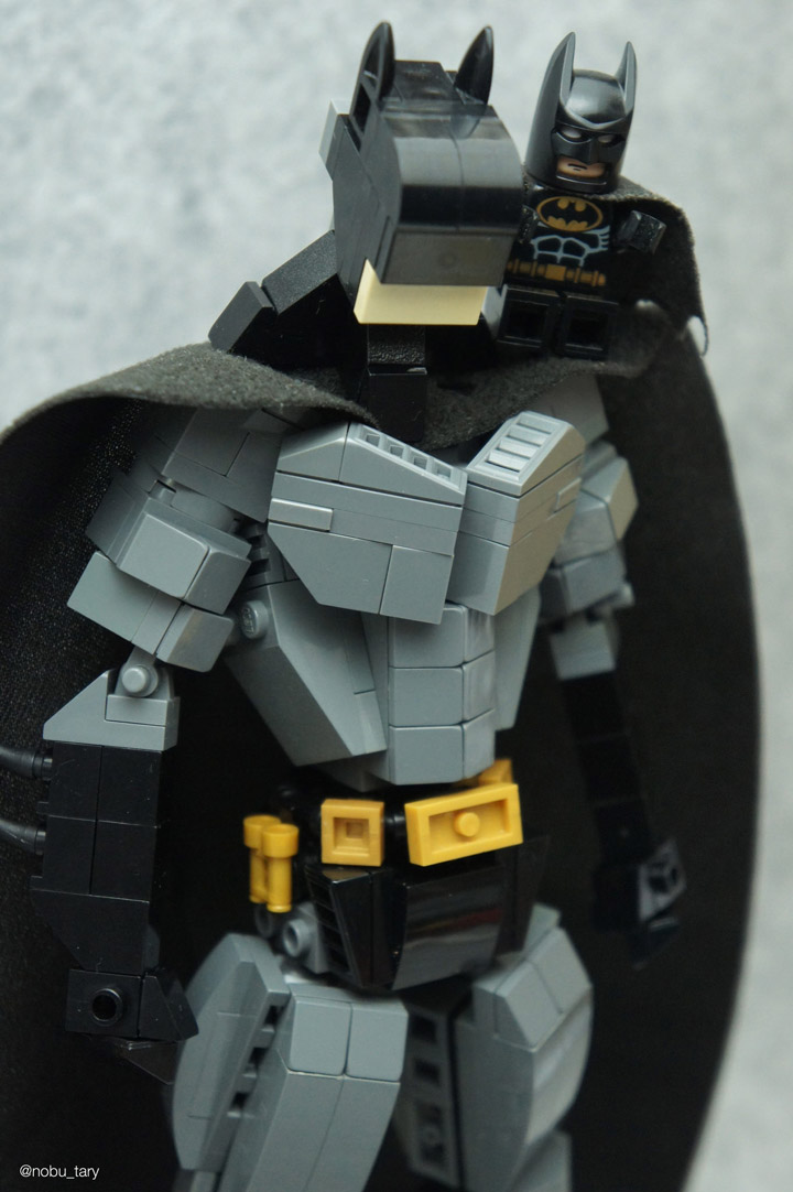 nobu_tary Batman Lego Figure Detail