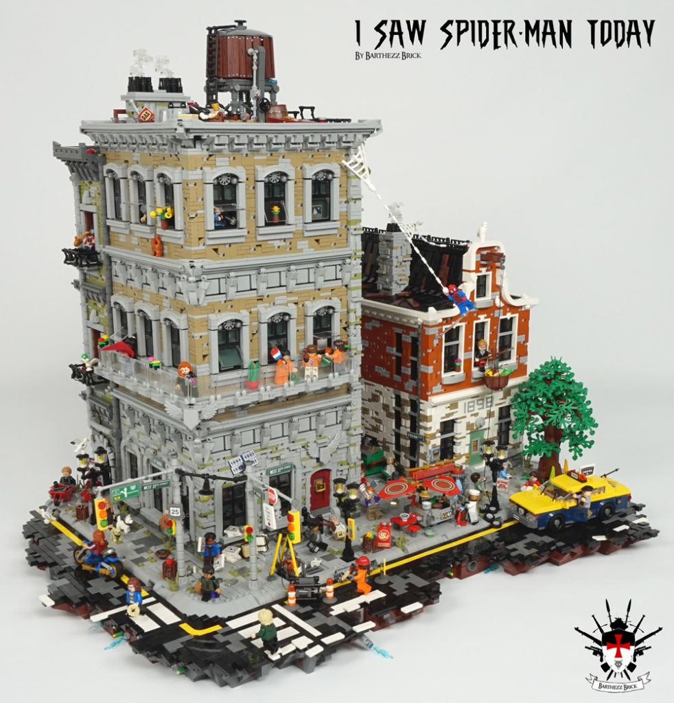 I Saw (Lego) Spider-Man Today, A Lego MOC