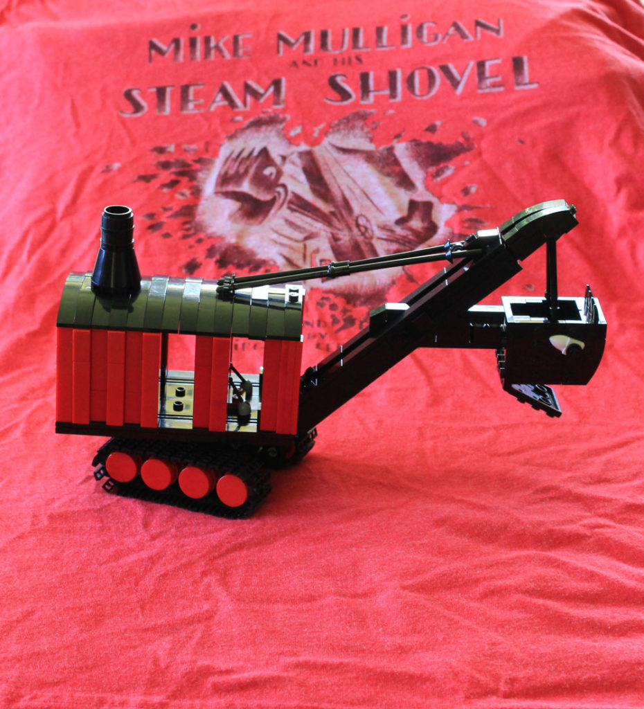 Lego Mike Mulligan And His Steam Shovel