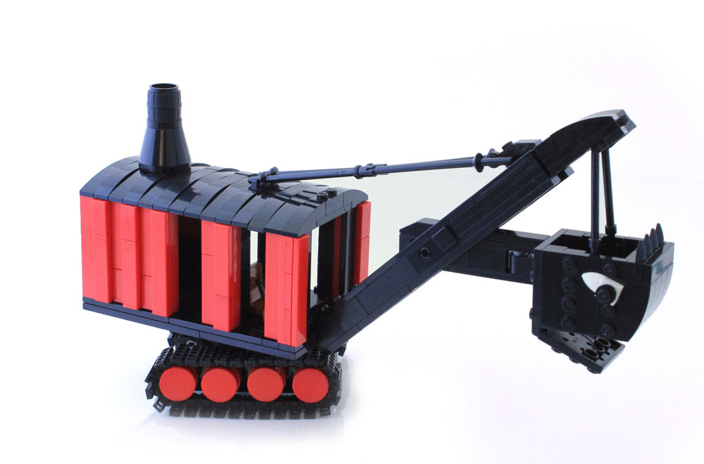 Lego Mike Mulligan Steam Shovel